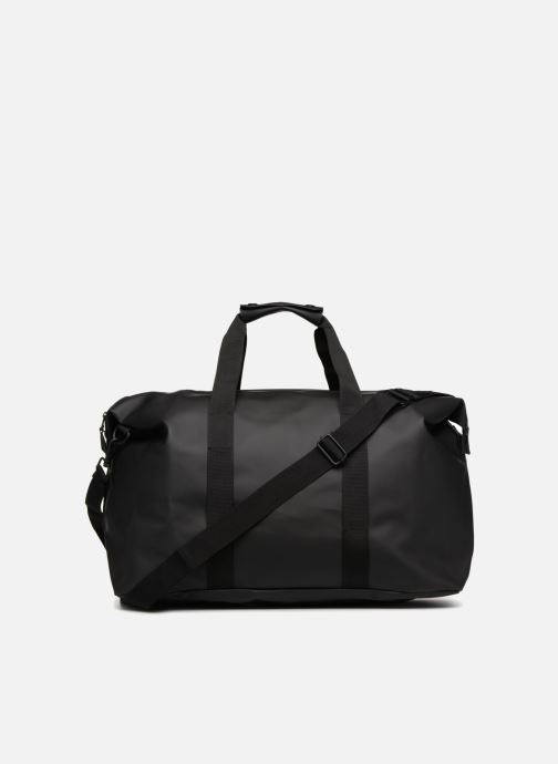 Bolsas de deporte Rains  Weekend Bag Negro vista de frente