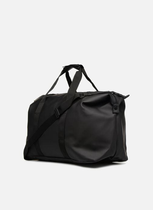 Bolsas de deporte Rains  Weekend Bag Negro vista lateral derecha