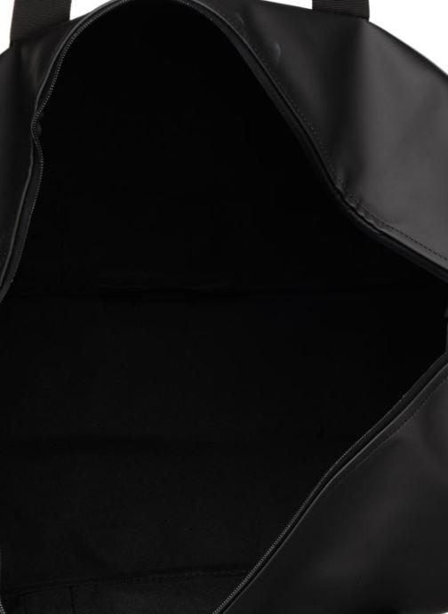 Bolsas de deporte Rains  Weekend Bag Negro vistra trasera