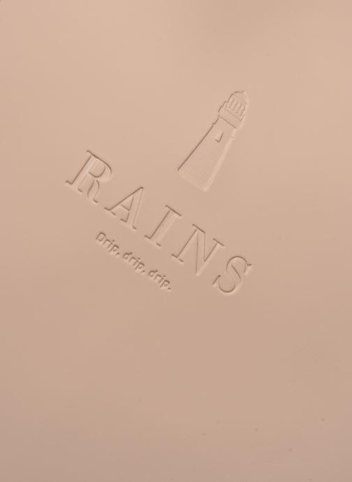 Reisegepäck Rains  Weekend Bag beige ansicht von links