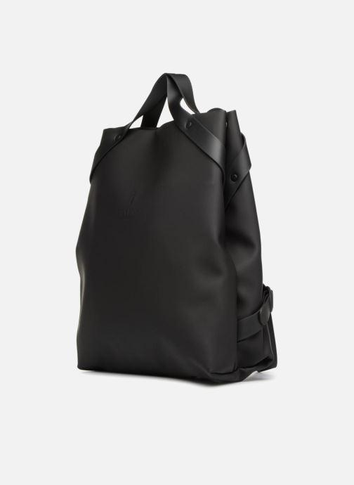 Rucksacks Rains  Shift Bag Black model view