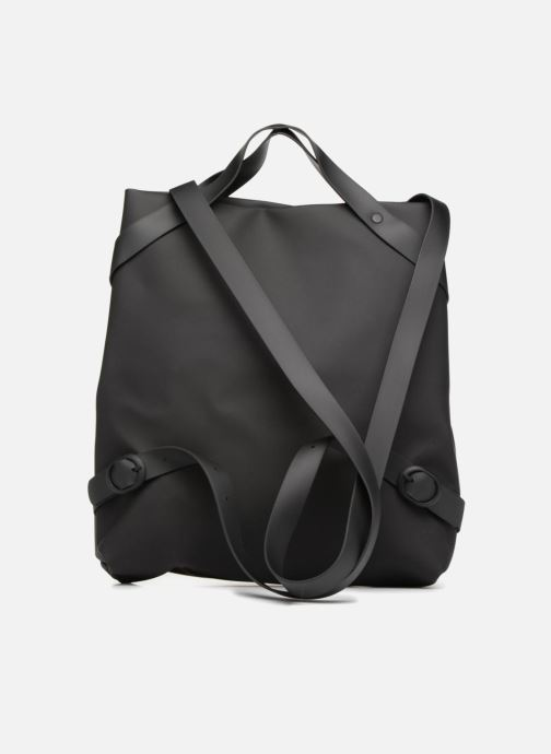 Rucksacks Rains  Shift Bag Black front view