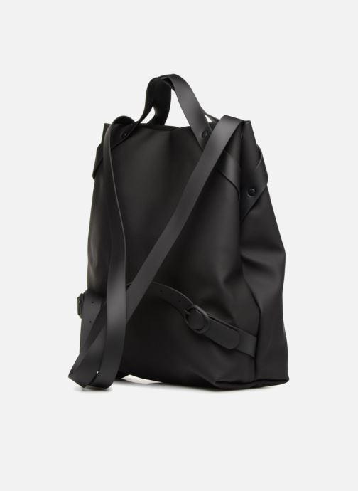 Rucksacks Rains  Shift Bag Black view from the right
