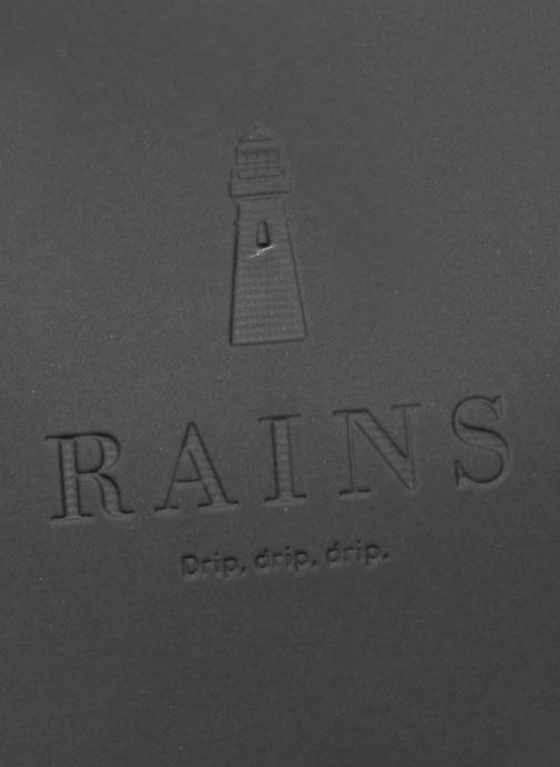 Rucksacks Rains  Shift Bag Black view from the left
