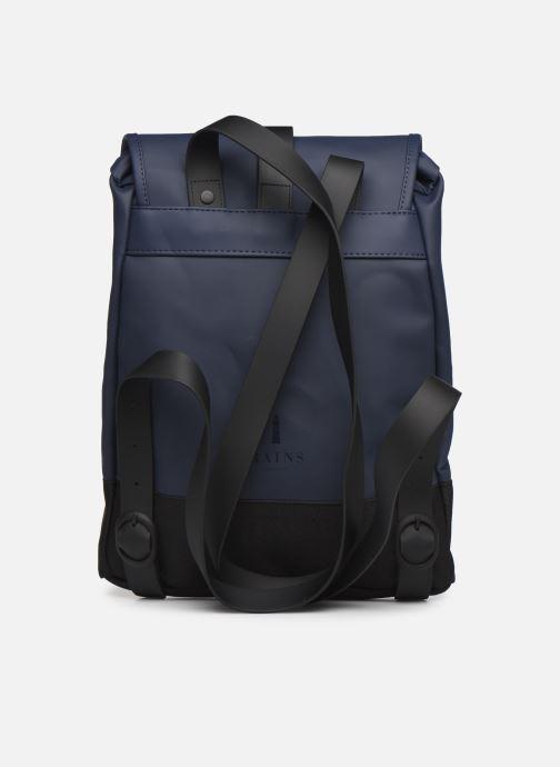 Zaini Rains  Drawstring Backpack Azzurro immagine frontale