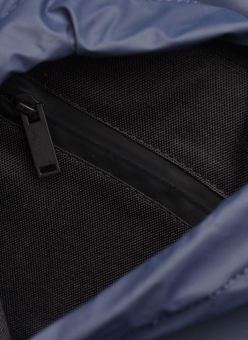Rucksacks Rains  Drawstring Backpack Blue back view