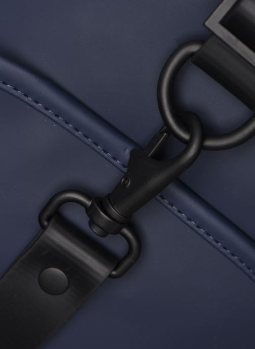 Rucksacks Rains  Drawstring Backpack Blue view from the left