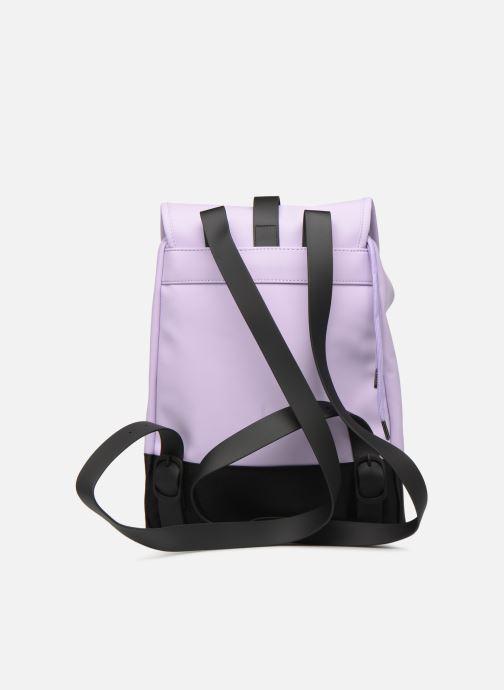 Mochilas Rains  Drawstring Backpack Violeta      vista de frente