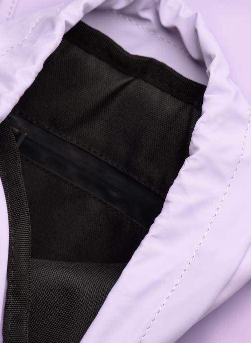 Mochilas Rains  Drawstring Backpack Violeta      vistra trasera