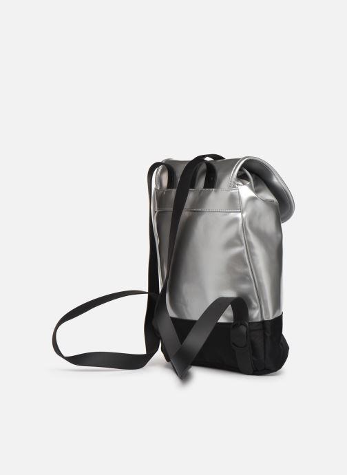 Mochilas Rains  Drawstring Backpack Plateado vista lateral derecha