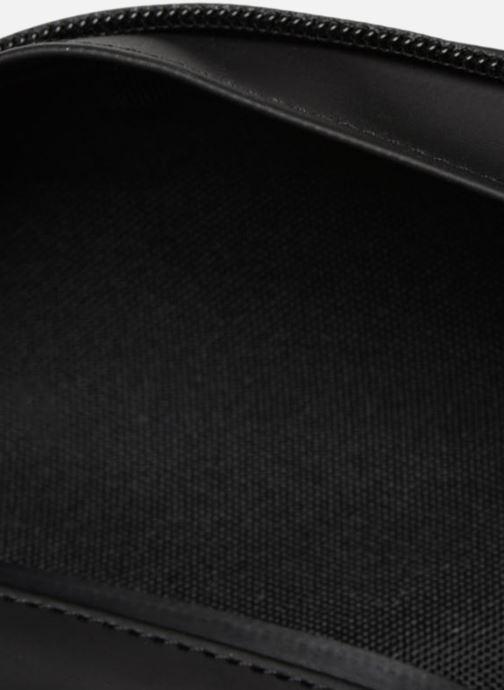Kleine lederwaren Rains  Bum Bag Zwart achterkant