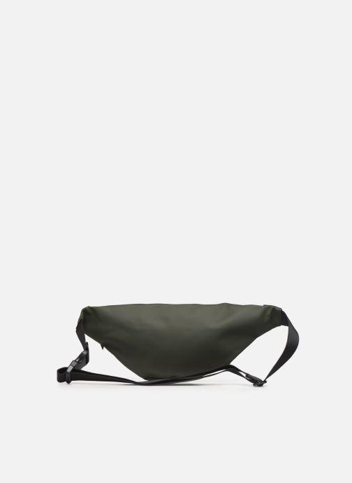 Kleine lederwaren Rains  Bum Bag Groen voorkant
