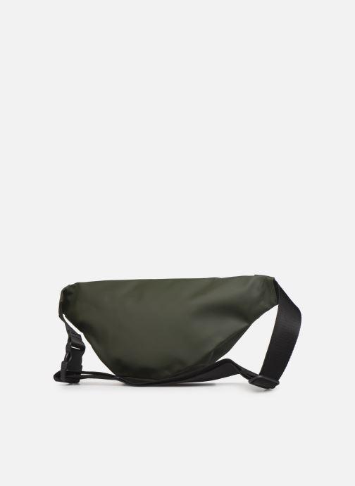 Kleine lederwaren Rains  Bum Bag Groen rechts