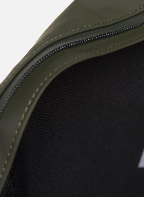 Kleine lederwaren Rains  Bum Bag Groen achterkant