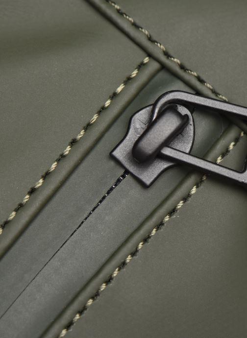 Kleine lederwaren Rains  Bum Bag Groen links