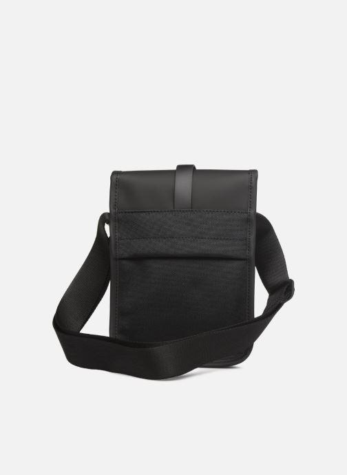 Kleine lederwaren Rains  Flight Bag Zwart voorkant