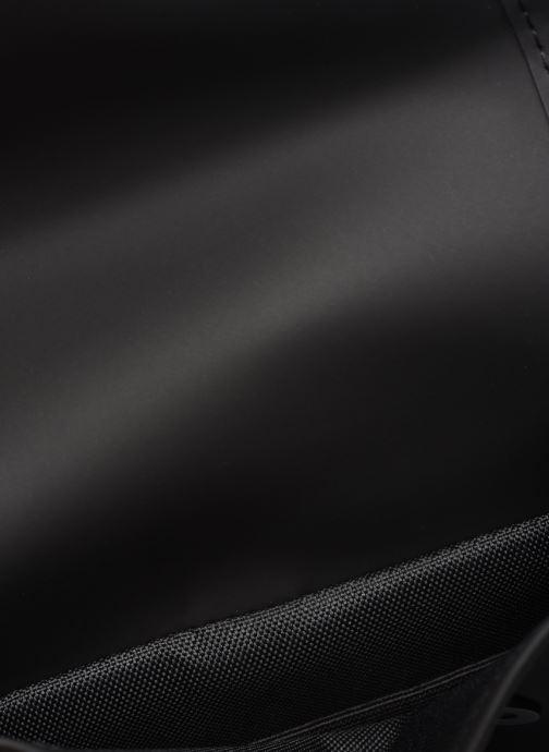 Kleine lederwaren Rains  Flight Bag Zwart achterkant