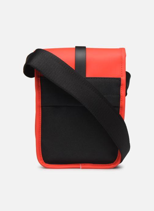 Kleine lederwaren Rains  Flight Bag Rood voorkant