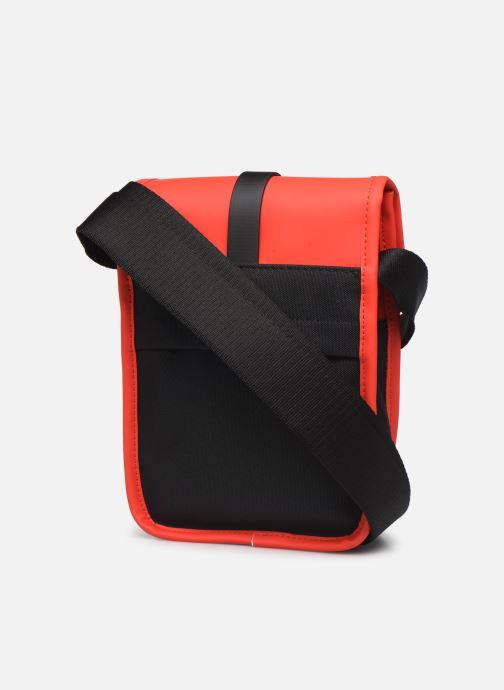 Kleine lederwaren Rains  Flight Bag Rood rechts