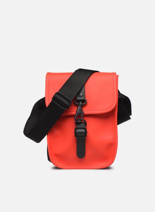 Kleine lederwaren Rains  Flight Bag Rood detail