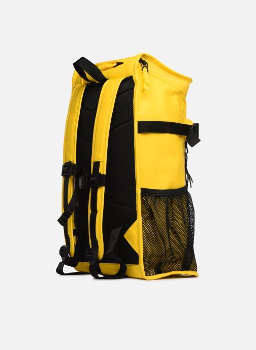Rucksäcke Rains  Mountaineer Bag gelb ansicht von rechts