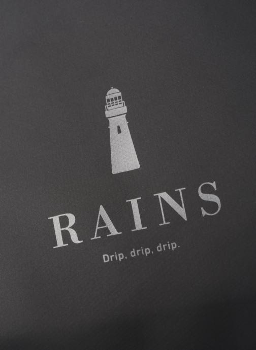 Rucksäcke Rains  Roll Top Rucksack schwarz ansicht von links