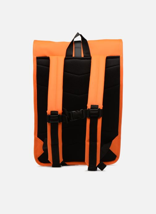 Rucksäcke Rains  Roll Top Rucksack orange ansicht von vorne