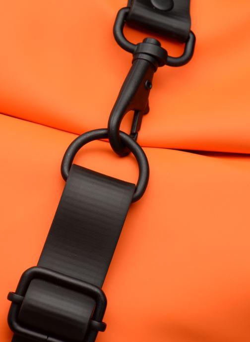 Rucksäcke Rains  Roll Top Rucksack orange ansicht von links