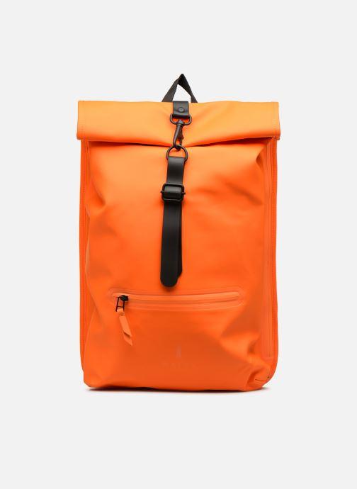 Rucksäcke Rains  Roll Top Rucksack orange detaillierte ansicht/modell