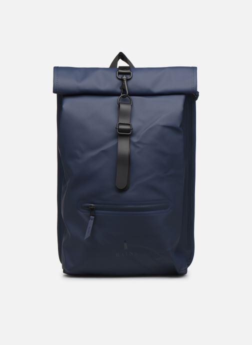 Rucksäcke Rains  Roll Top Rucksack blau detaillierte ansicht/modell