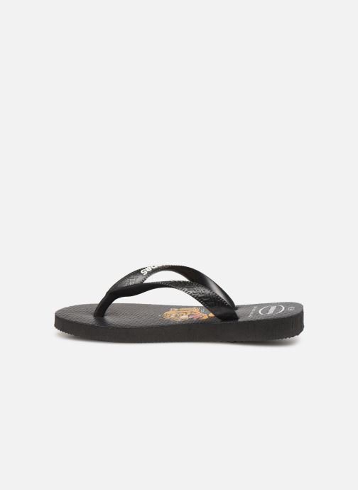 Tongs Havaianas Top Wild Noir vue face
