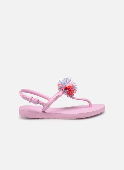 Flip flops & klipklapper Havaianas Kids Freedom SL Pompom Pink se bagfra