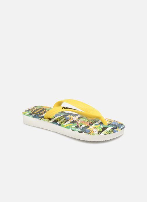 Chanclas Havaianas Minions Amarillo vista de detalle / par