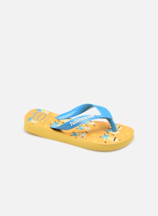 Zehensandalen Havaianas Minions gelb detaillierte ansicht/modell