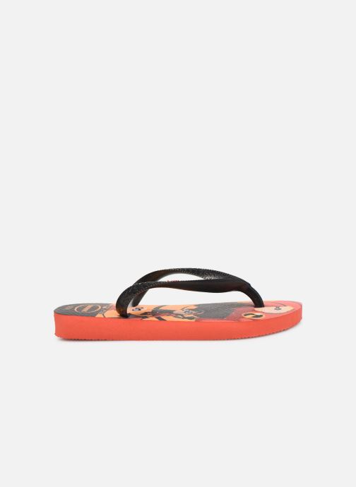 Slippers Havaianas Kids Os Incriveis 2 Rood achterkant