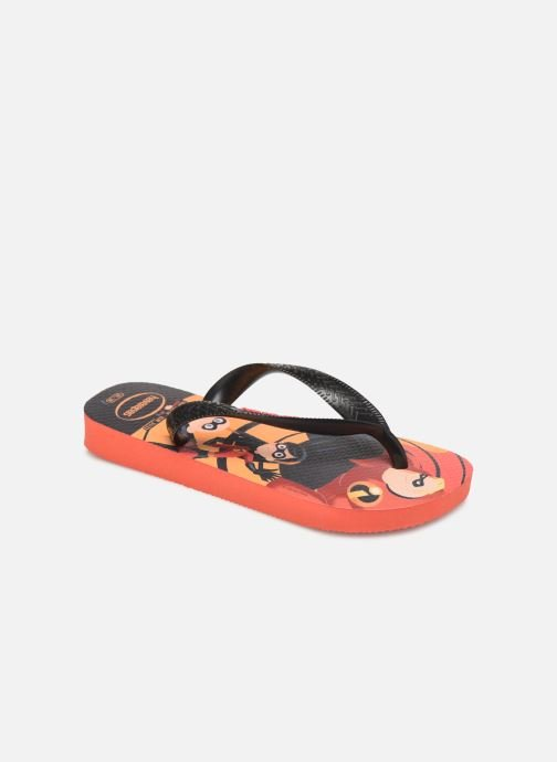 Tongs Havaianas Kids Os Incriveis 2 Rouge vue détail/paire