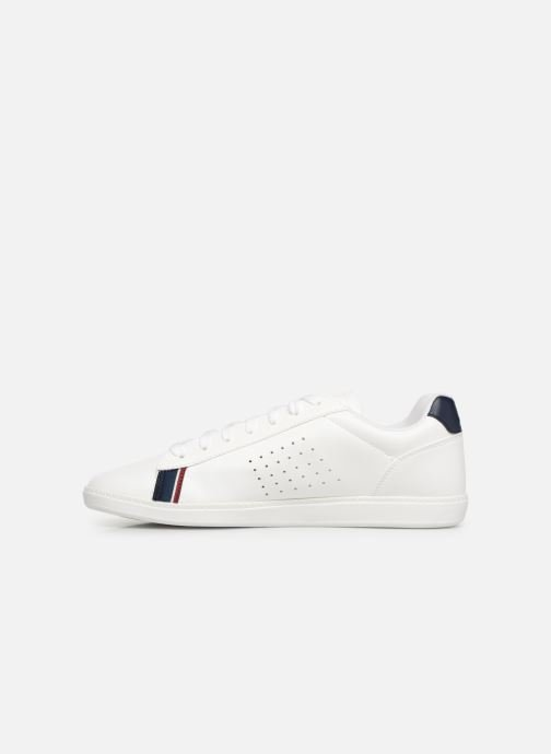 Sneakers Le Coq Sportif Courtstar Bianco immagine frontale