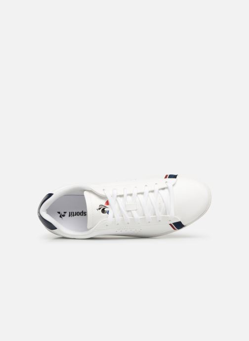 Trainers Le Coq Sportif Courtstar White view from the left