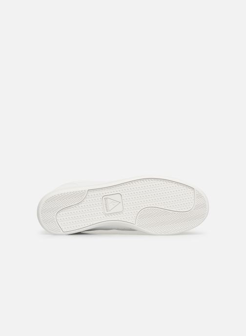Trainers Le Coq Sportif Courtstar White view from above