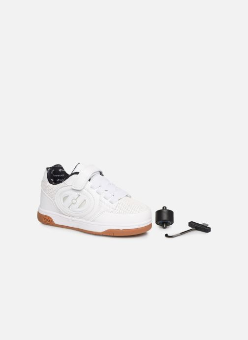 Deportivas Heelys Plus X2 Lighted Blanco vista 3/4