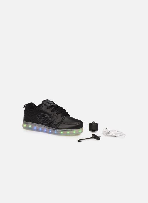 Baskets Heelys Premium 2 Lo Noir vue 3/4