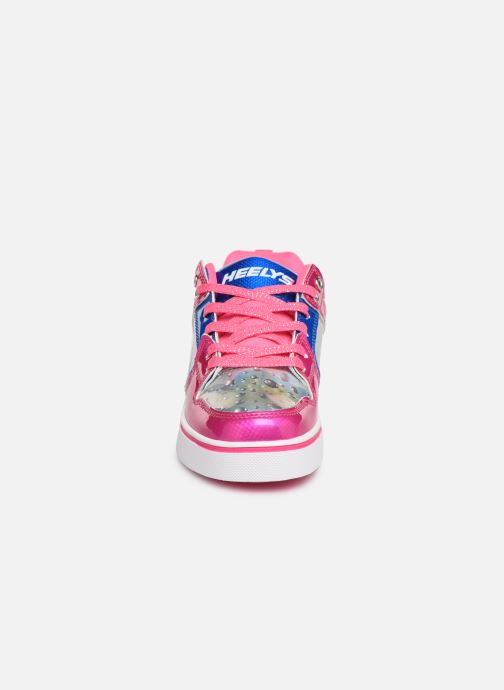 Baskets Heelys Motion 2.0 Rose vue portées chaussures