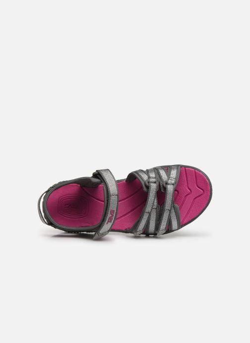Sandales et nu-pieds Teva Tirra Kids Rose vue gauche