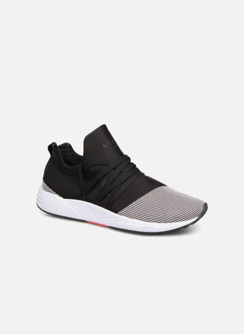 Trainers ARKK COPENHAGEN Raven Mesh S Black detailed view/ Pair view