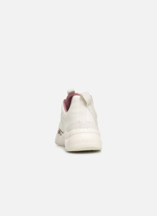 Trainers ARKK COPENHAGEN Asymtrix Mesh F W White view from the right