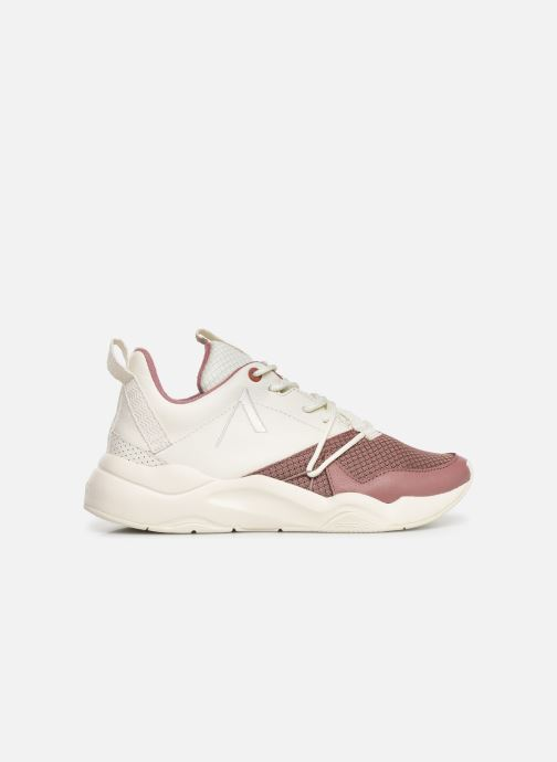 Trainers ARKK COPENHAGEN Asymtrix Mesh F W White back view