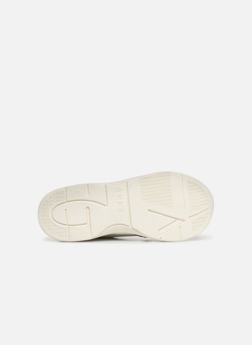 Trainers ARKK COPENHAGEN Asymtrix Mesh F W White view from above