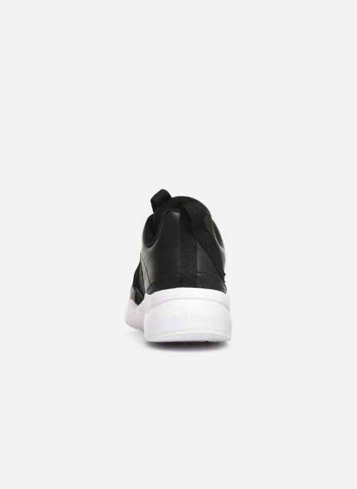 Trainers ARKK COPENHAGEN Asymtrix Mesh F W Black view from the right