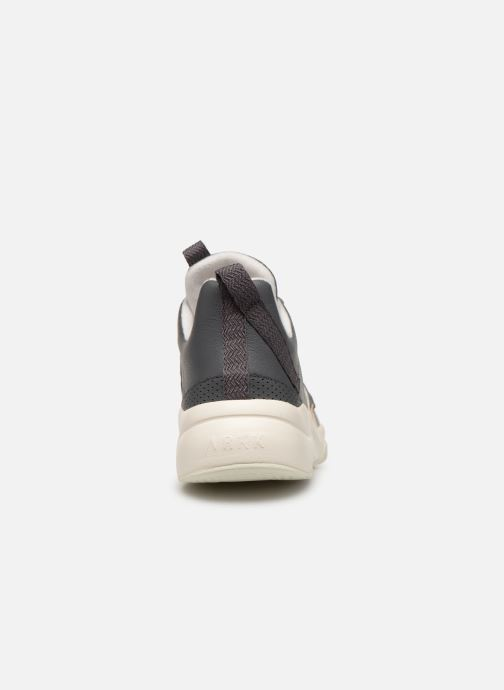 Trainers ARKK COPENHAGEN Asymtrix Mesh F Grey view from the right