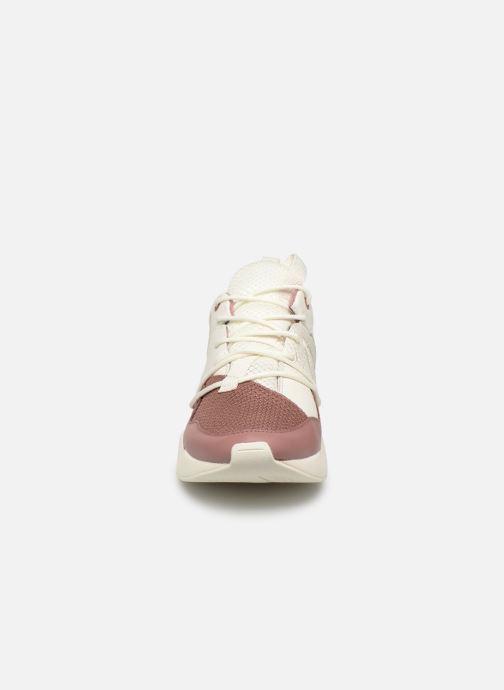 Baskets ARKK COPENHAGEN Asymtrix Mesh F Blanc vue portées chaussures